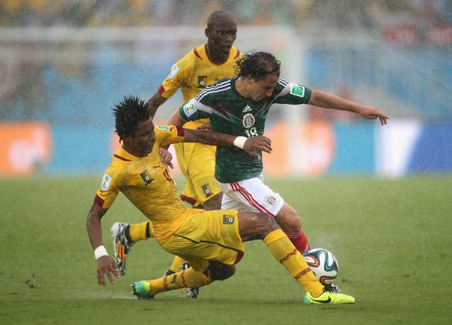 Cedric Djeugoue Cameroon Mexico
