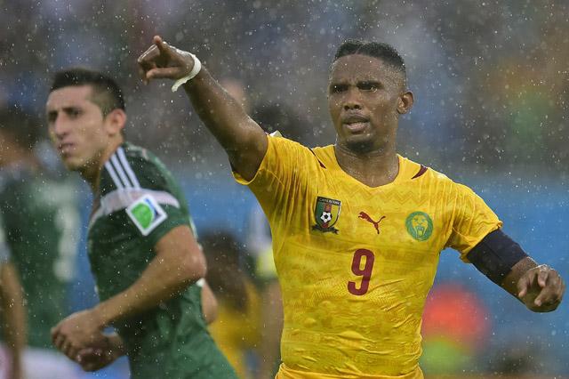 Samuel Eto'o Cameroon Mexico