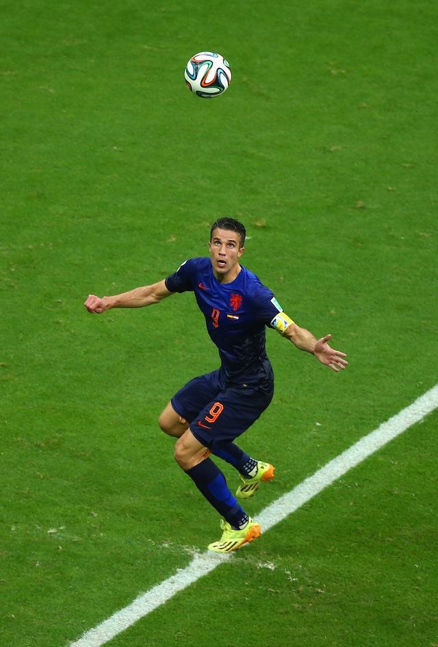 Robin van Persie header goal