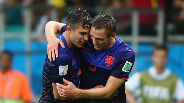 RVP Second Goal Holland Spain