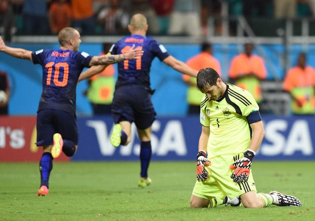 Arjen Robben Second Goal Spain Holland