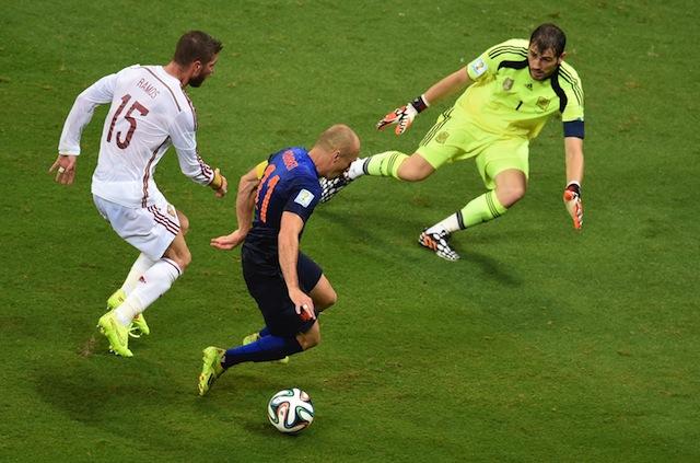 Arjen Robben World Cup 2014 Spain