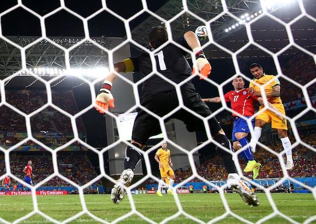 chile vs australia score highlights recap