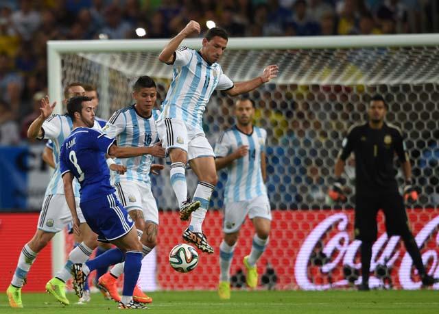 Bosnia goals Argentina