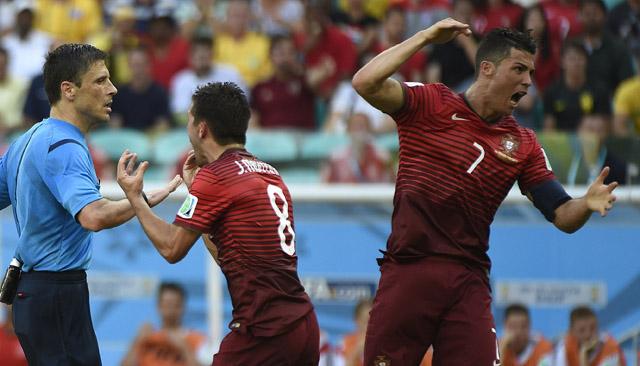 Ronaldo ref Germany game