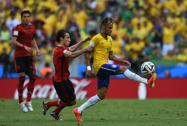 Neymar Chile