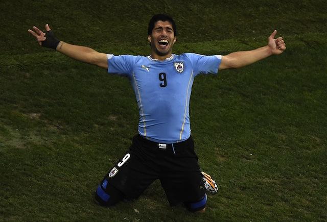 Luis Suarez, Luis Suarez goal vs. England, Uruguay vs. England