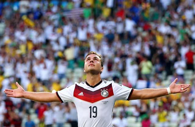 Mario Gotze Germany Record