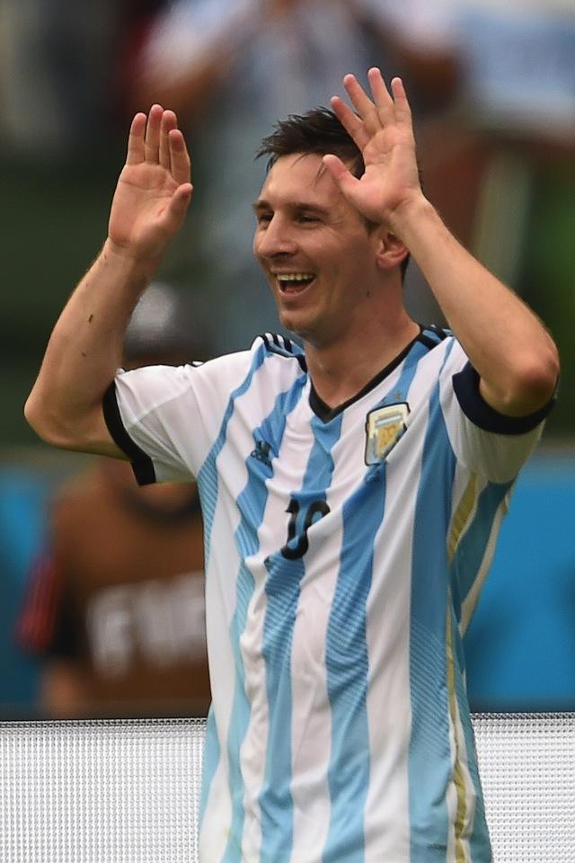 Lionel Messi, Argentina vs. Nigeria, World Cup