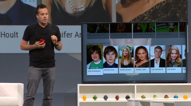 android tv, android tv control, android tv apps, google tv, google io 2014, android tv features