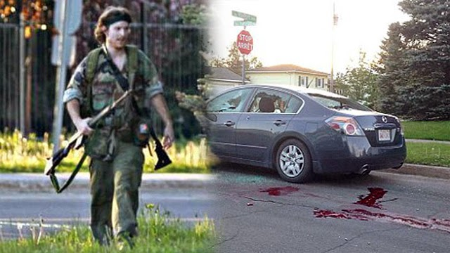 Justin Bourque, Moncton rampage, Moncton, New Brunswick rampage, Moncton cop killer, Canadian cop killer