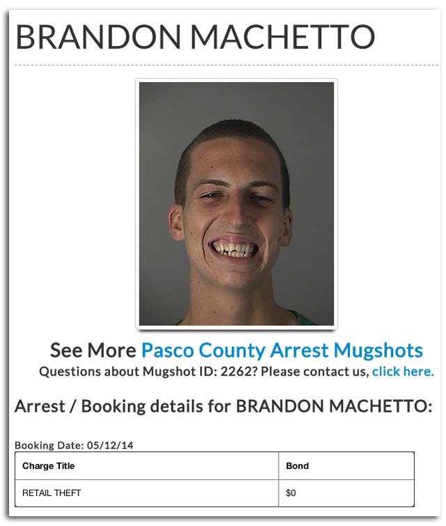 BRANDON MACHETTO, nudist murder, boy kills grandmother at nudist colony