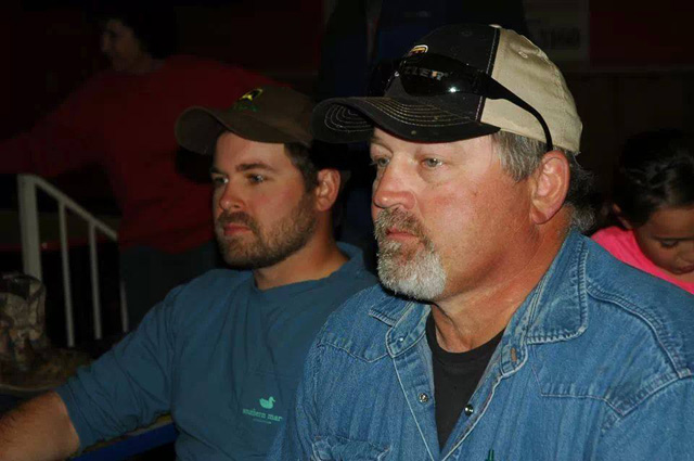 caleb bankston and his dad