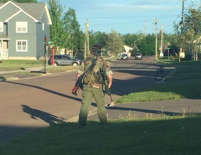 Justin Bourque, Moncton rampage suspect, Moncton New Brunswick cop killer