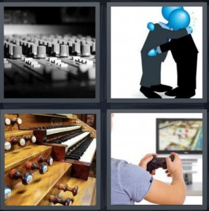 4 Pics 1 Word Answer For Mixer Comfort Organ Game Heavy Com
