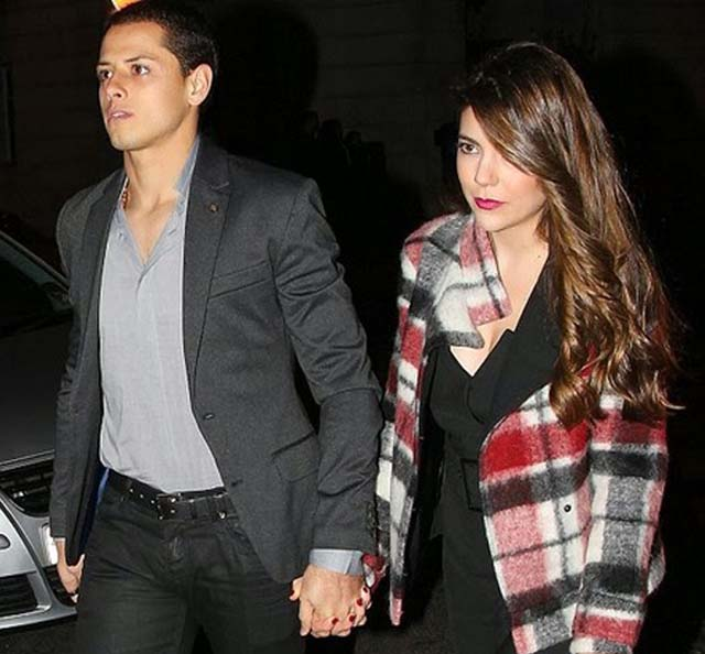 Lety Sahagun and Javier Hernanez, Lety Sahagun Chicharito girlfriend