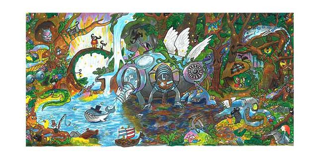 Audrey Zhang, Doodle 4 Google, Winner, Long Island