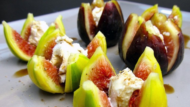 figs and goat cheese recipe