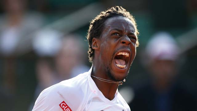 gael monfils, french open