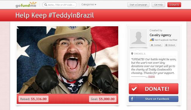 Teddy Goalsevelt, US World Cup