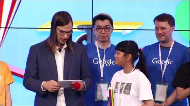 Audrey Zhang, Doodle 4 Google, Long Island