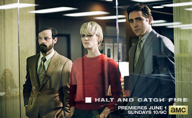 Halt and Catch Fire, Scoot McNairy, Mackenzie Davis, Lee Pace