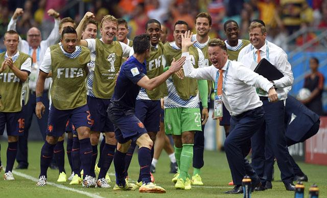Robin van Persie goal vs. Spain, Robin van Persie Netherlands goal, Netherlands vs. Spain
