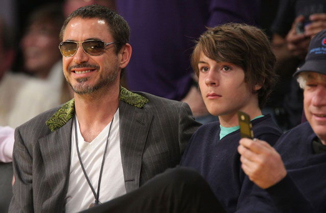 Robert Downey Jr.'s son arrested, felony drug charges, Indio Downey