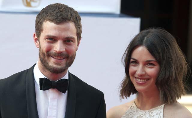 Jamie Dornan and Amelia Warner, 50 shades of grey actor