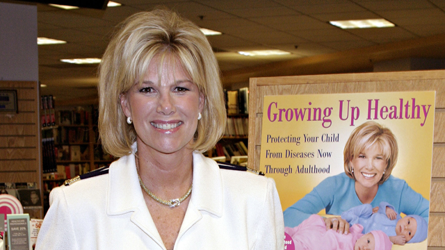 joan lunden, health advocate, growing up healthy, breast cancer