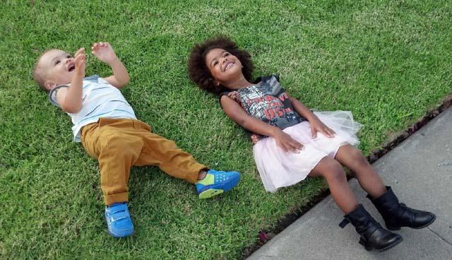 amanza smith brown kids