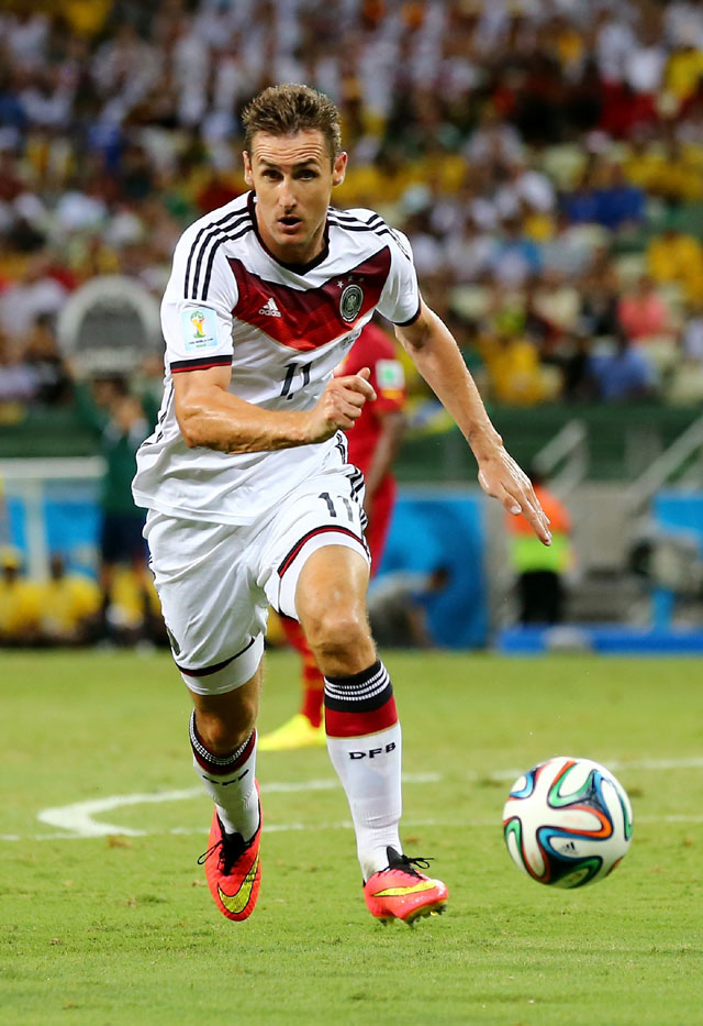 Miroslav Klose, German World Cup Team, FIFA 2014 World Cup