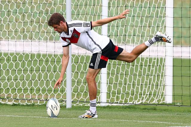 Thomas Muller, German National Team, World Cup 2014