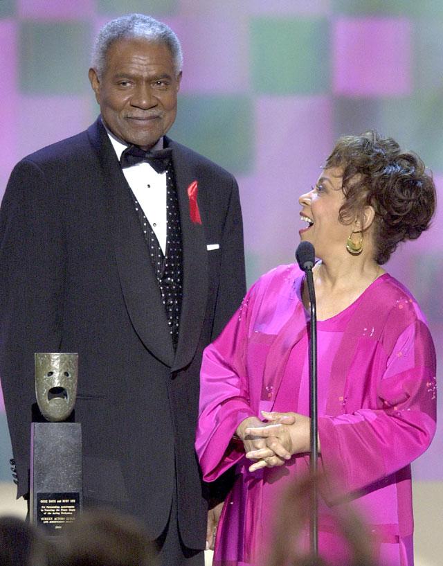 Ruby Dee, Ossie Davis, Dead, 91, RIP