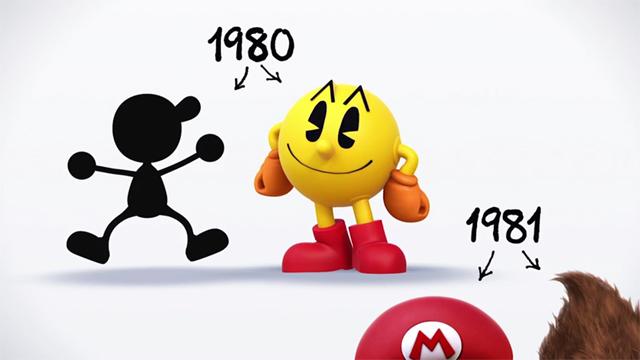 Pac Man Super Smash Bros