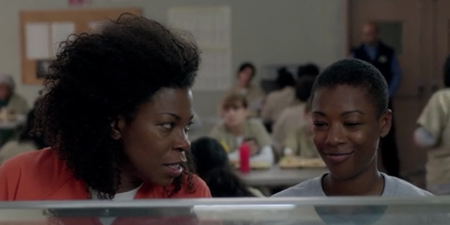 poussey and vee have a falling out turns T against her