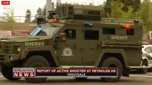 reynolds high school sheriff