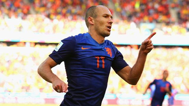 Arjen Robben, Arjen Robben goal, Australia vs. Netherlands