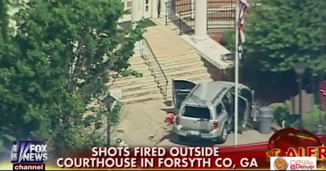 Dennis Ronald Marx, Forsyth County Courthouse shooting suspect