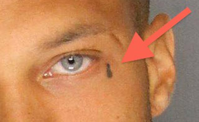 jeremy meeks, viral sexy mugshot, teardrob tattoo
