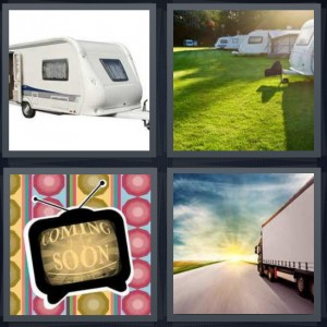 4 Pics 1 Word Answer For Rv Camper Television Truck Heavy Com