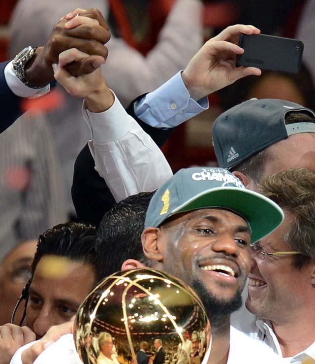 LeBron James Championship