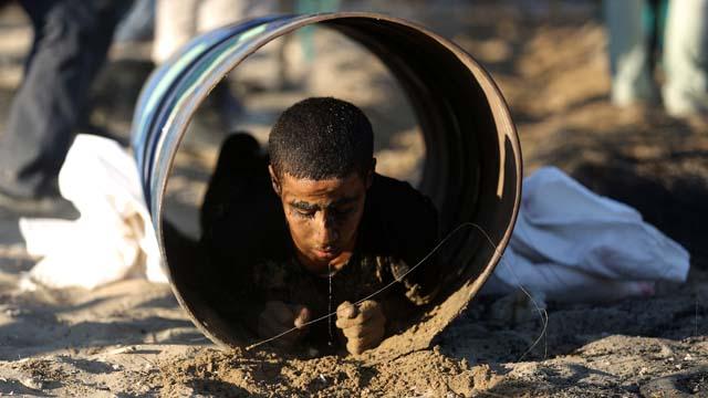 Hamas Tunnel Training