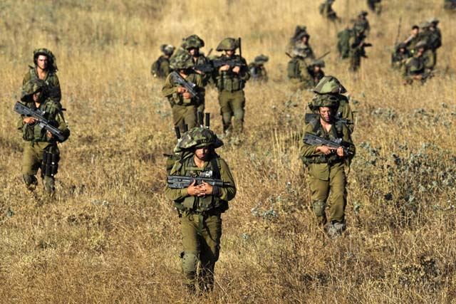 IDF Hamas Tunnels