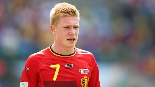 Kevin de bruyne goal belgium