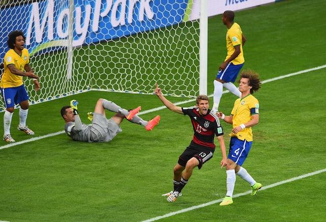 Germany Goals vs Brazil