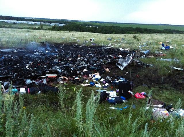 Ukraine shooting down Malaysia plane