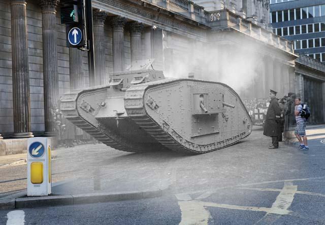 world war i photos, london during wwi