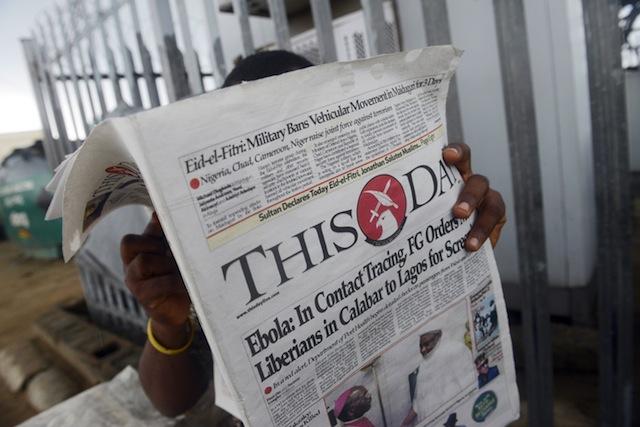 ebola in nigeria