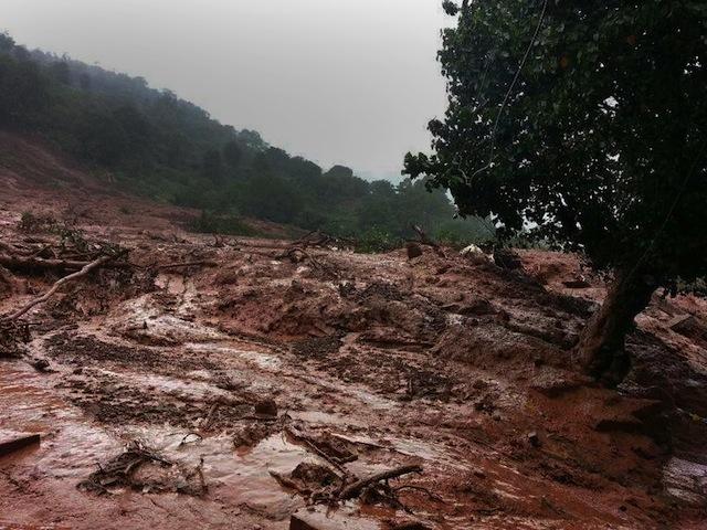 indian landslide